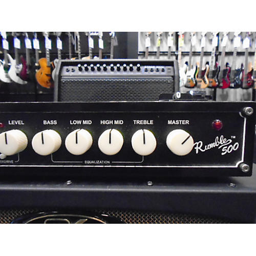 Fender Rumble V3 500W Bass Amp Head-thumbnail