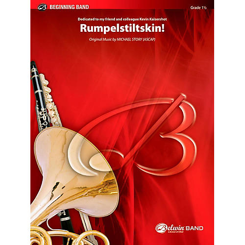 BELWIN Rumpelstiltskin! Concert Band Grade 1.5 (Very Easy to Easy)-thumbnail