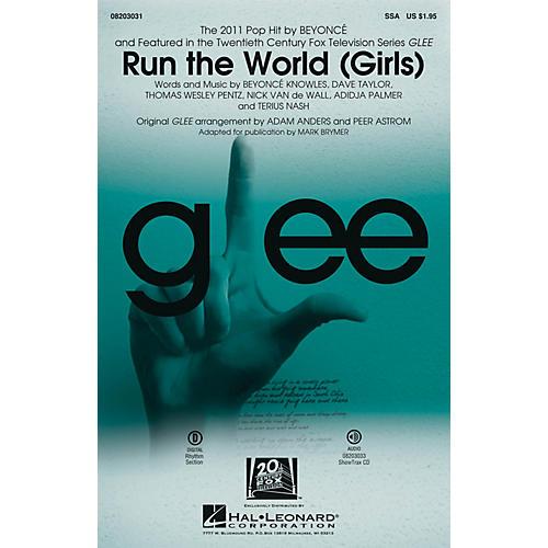 Hal Leonard Run the World (Girls) SSA by Beyoncé arranged by Mark Brymer