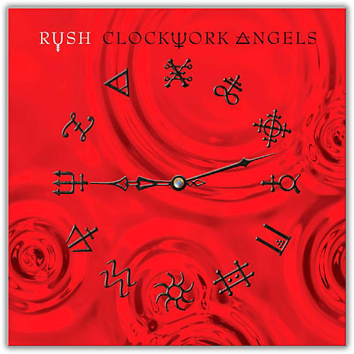 WEA Rush - Clockwork Angels Vinyl LP