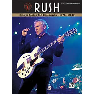 Alfred Rush - Deluxe Guitar Tab Collection 1975-2007 by Alfred