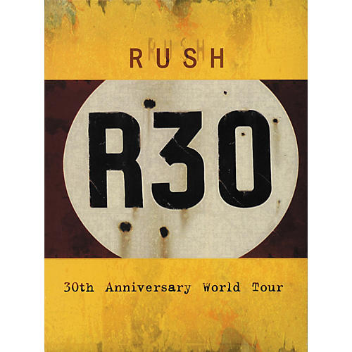 Hal Leonard Rush - R30 - 30th Anniversary World Tour DVD-thumbnail