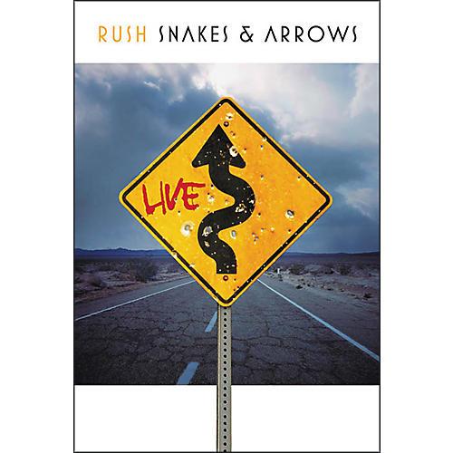 Hal Leonard Rush - Snakes & Arrows Live (3 Blu-Ray DVD Set)