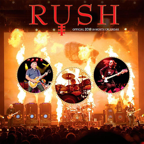Browntrout Publishing Rush 2016 Calendar Square 12 x 12 In.-thumbnail