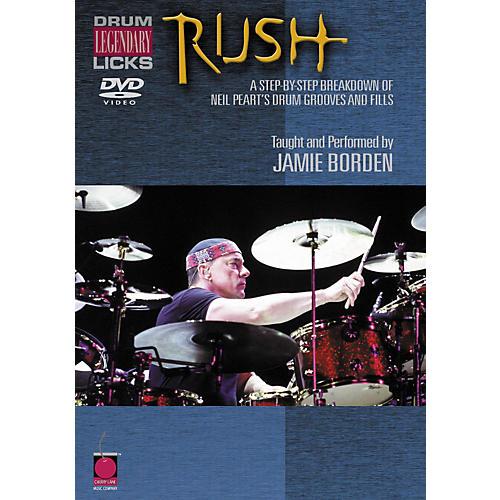 Cherry Lane Rush Legendary Licks for Drums DVD-thumbnail