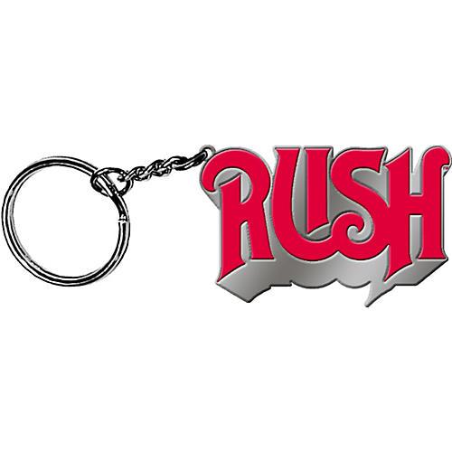 C&D Visionary Rush Logo Metal Keychain