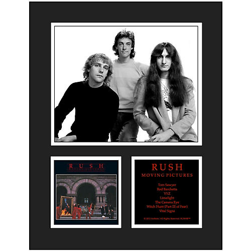 Mounted Memories Rush Moving Pictures 11x14 Matted Photo-thumbnail
