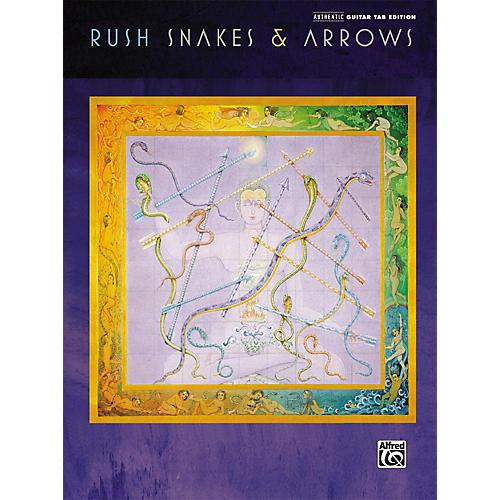 Alfred Rush Snakes & Arrows Guitar Tab Songbook-thumbnail