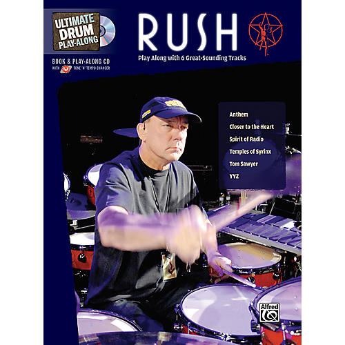 Alfred Rush Ultimate Drum Play-Along (Book/CD)-thumbnail