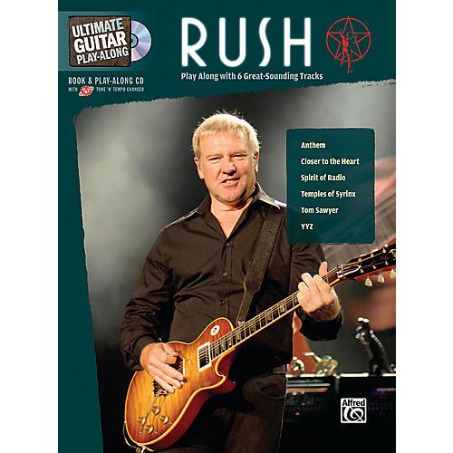Alfred Rush Ultimate Play-Along Guitar (Book/CD)-thumbnail