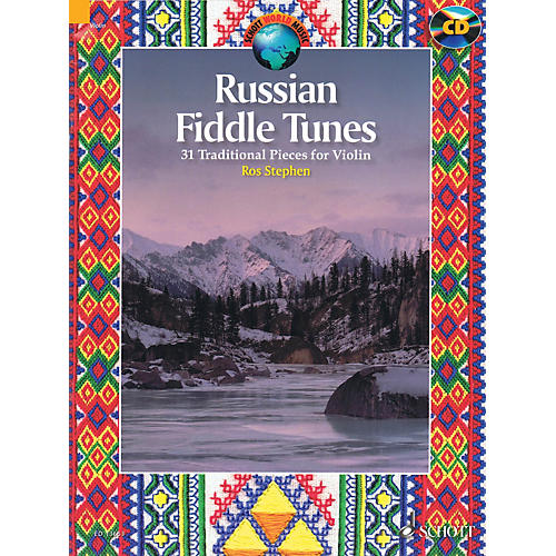 Schott Russian Fiddle Tunes (31 Traditional Pieces) String Series Softcover with CD