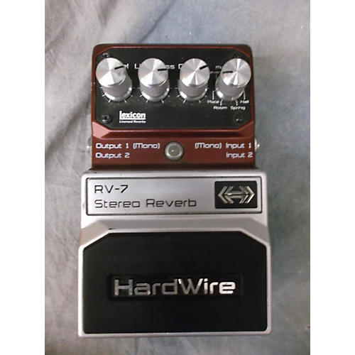 In Store Used Rv7 Stereo Reverb Effect Pedal