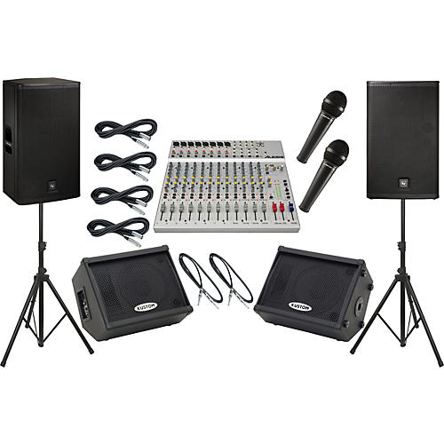 Alesis S-16 / EV ELX115P Mains and Monitors Package-thumbnail
