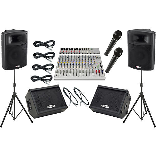 Alesis S-16 / Harbinger APS15 Mains and Monitors Package-thumbnail