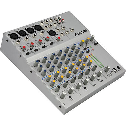 Alesis S-8 8 Channel Compact Mixer-thumbnail