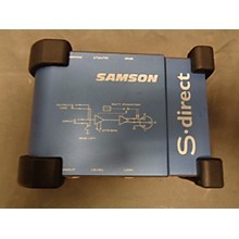 Samson S-DIRECT Direct Box