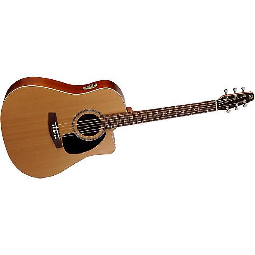 Seagull S-Series S6 + CW Cedar GT Quantum II Acoustic-Electric Guitar-thumbnail