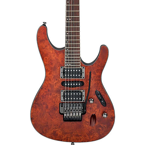 Ibanez S Series S770PB Electric Guitar Flat Charcoal Brown