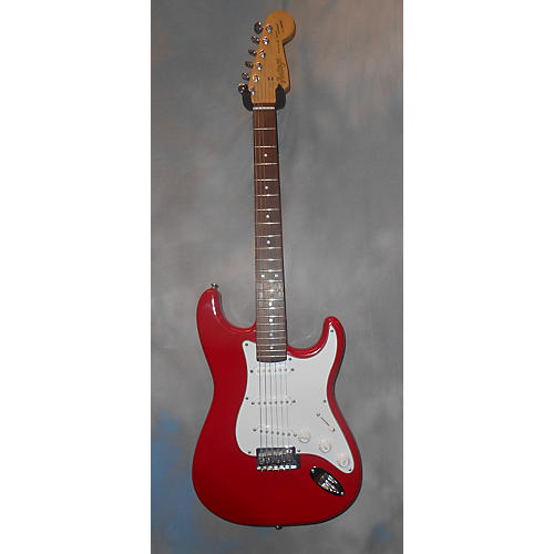 Vintage S Style Solid Body Electric Guitar Candy Apple Red
