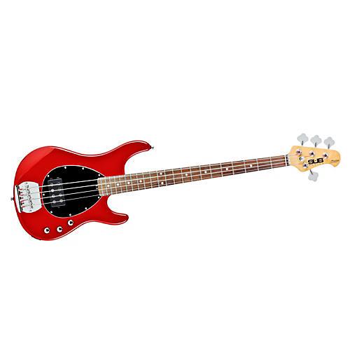 Sterling by Music Man S.U.B. SB4 Electric Bass Guitar Metallic Red