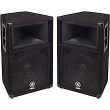 """Yamaha S112V 2-Way 12"""" Club Series V Speaker Pair"""