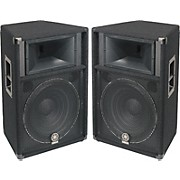"Yamaha S115V 2-Way 15"" Club Series V Speaker Pair"