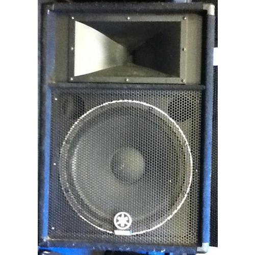 Yamaha S115v Black Unpowered Speaker Black