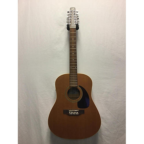Seagull S12 12 String Acoustic Electric Guitar-thumbnail