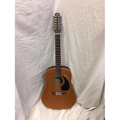 used seagull s12 ae 12 string acoustic guitar natural guitar center. Black Bedroom Furniture Sets. Home Design Ideas