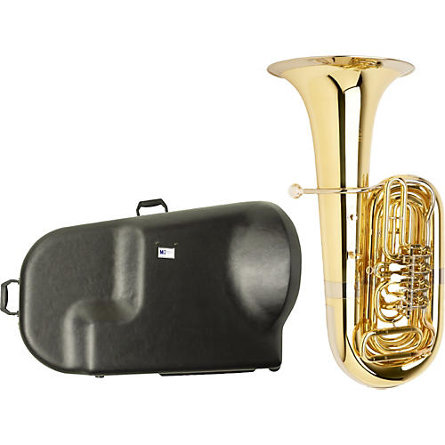 Miraphone S186 Standard Series 4-Valve BBb Tuba with Hard Case-thumbnail