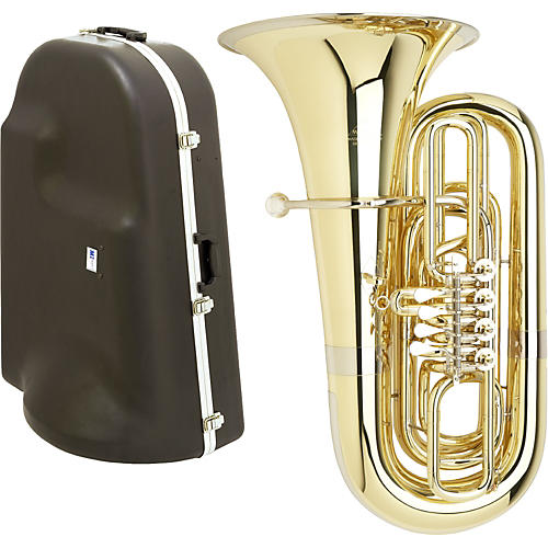Miraphone S191 Series 4-Valve BBb Tuba with Hard Case-thumbnail