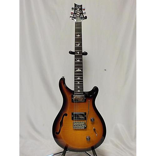 used prs s2 custom 22 semi hollow hollow body electric guitar dark cherry burst guitar center. Black Bedroom Furniture Sets. Home Design Ideas