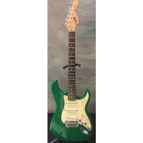 G&L S500 Solid Body Electric Guitar Emerald Green