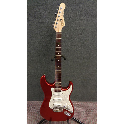 G&L S500 Solid Body Electric Guitar Candy Apple Red