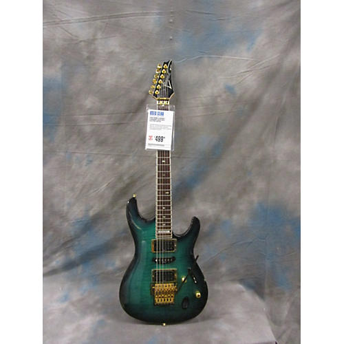 Ibanez S540FMTT Turquoise Solid Body Electric Guitar