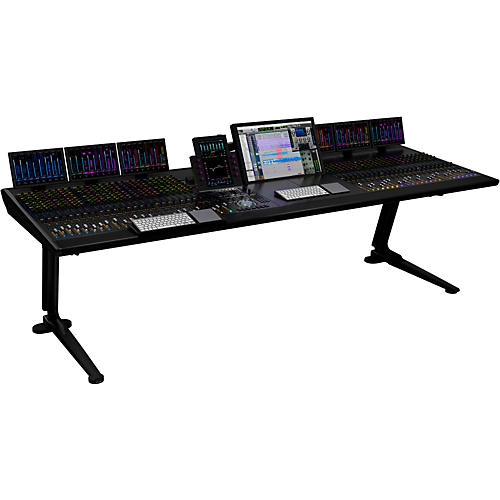 Avid S6 M40 32-9-D (32 channel strips, 9 knobs per channel, 4x display module)