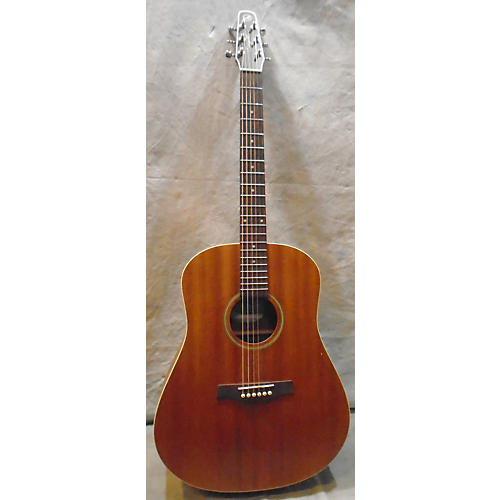 Seagull S6 MAHOGANY DELUXE Acoustic Electric Guitar-thumbnail