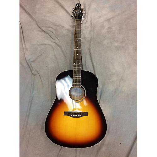 Seagull S6 Spruce GT Q1 Acoustic Electric Guitar-thumbnail
