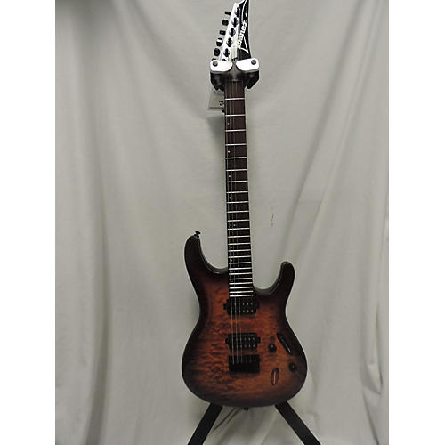 Ibanez S621QM Solid Body Electric Guitar