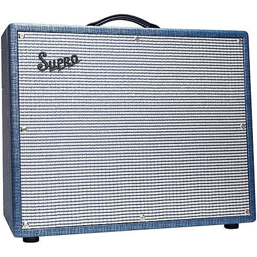 Supro S6420+ Thunderbolt Plus 35W 1x15 Tube Guitar Combo Amp-thumbnail
