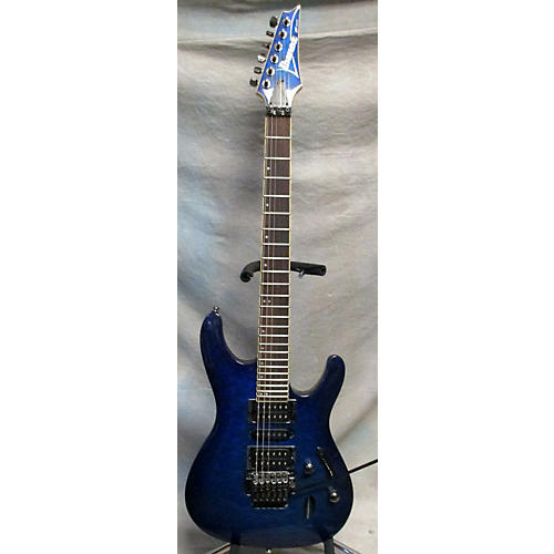 Ibanez S670QM Solid Body Electric Guitar-thumbnail