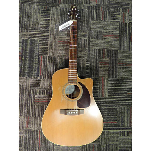 Seagull S6+CW Acoustic Electric Guitar-thumbnail