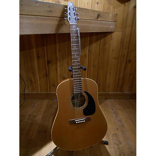 Seagull S6+Cedar Acoustic Electric Guitar