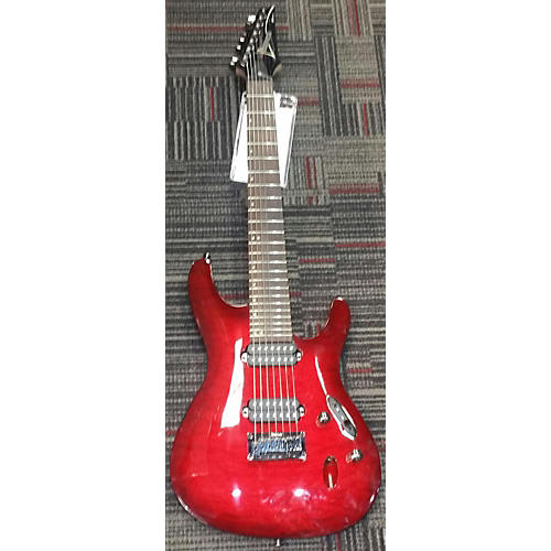 Ibanez S7521qm Solid Body Electric Guitar-thumbnail