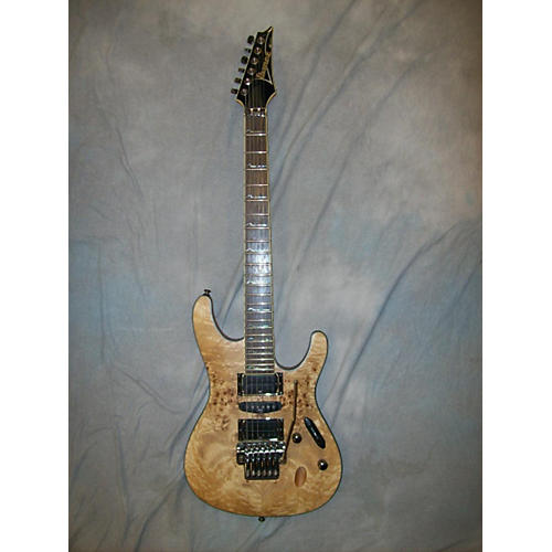 Ibanez S770PB Poplar Burl Solid Body Electric Guitar-thumbnail