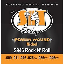 SIT Strings S946 Rock n Roll Power Wound Nickel Electric Guitar Strings