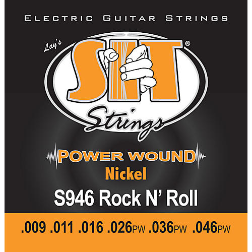 SIT Strings S946 Rock n Roll Power Wound Nickel Electric Guitar Strings