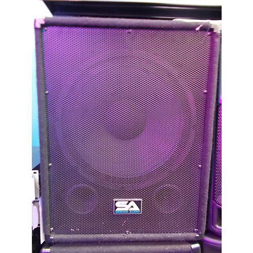 Seismic Audio SA-15SS (PAIR) Unpowered Subwoofer