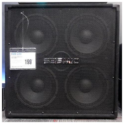 Seismic Audio SA-410 Bass Cabinet-thumbnail
