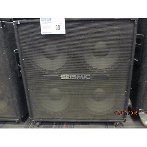 Seismic Audio SA-412 Guitar Cabinet